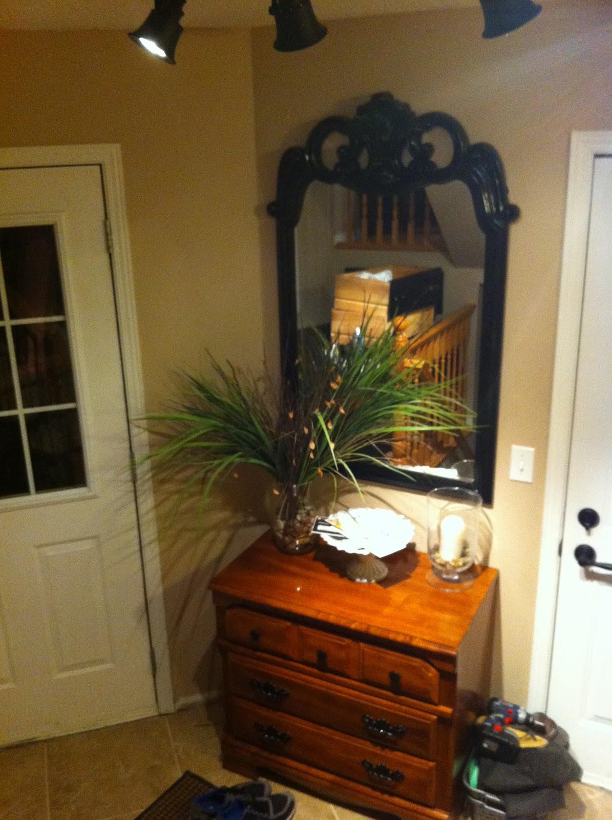 The Little Blue Entryway Dresser
