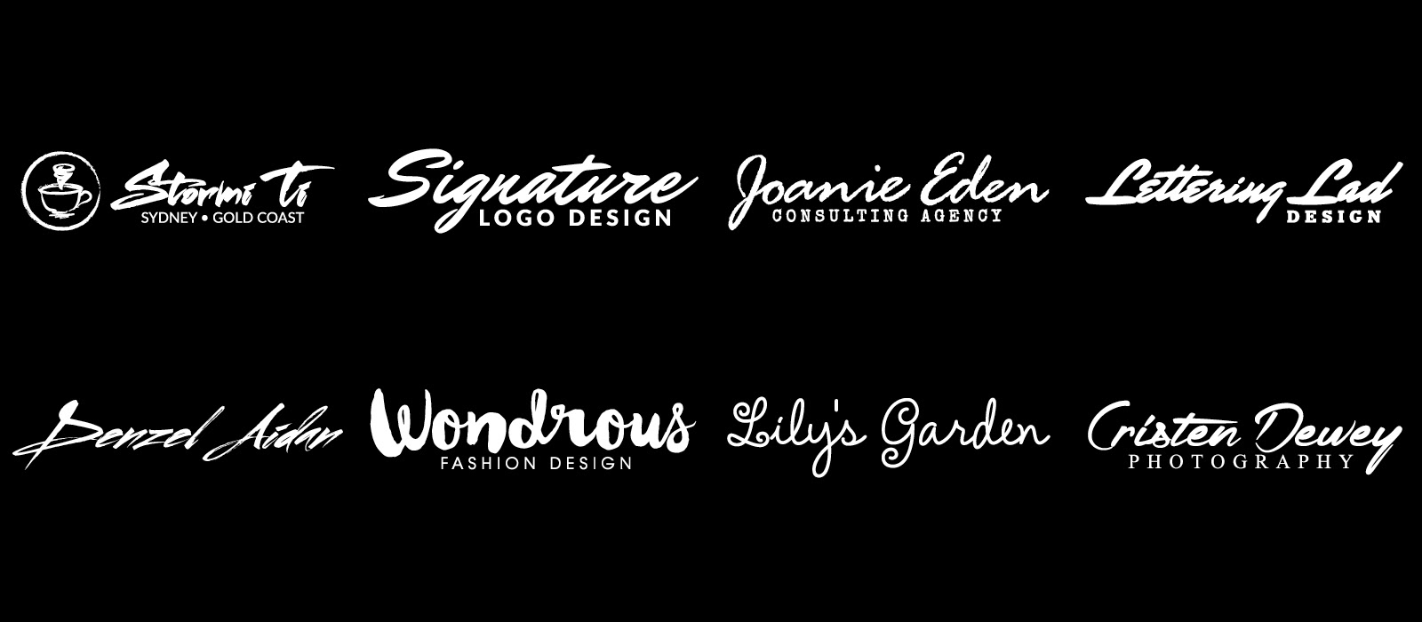 Cheap-Fiverr-Signature-Logo-Design-Portfolio-Sample