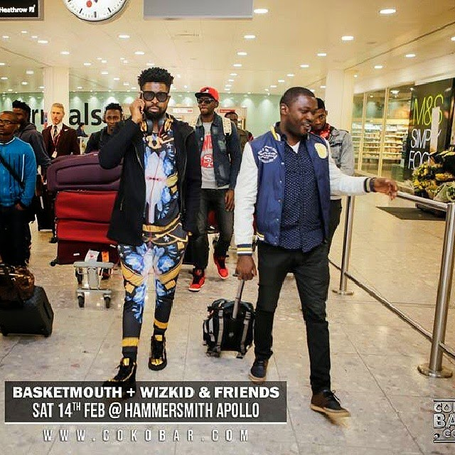 basketmouth london comedy show