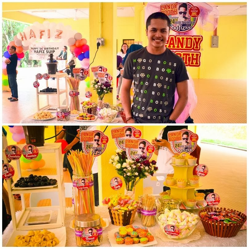 Candy Booth with Hafiz Suip