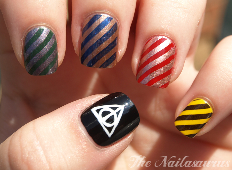 I Ve Had Enough Trouble For A Lifetime Harry Potter Nail Art