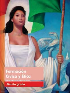 Libro de TextoFormación Cívica y Ética Quinto grado  2015-2016