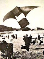 Kite Demonstration in Biarritz - 1904