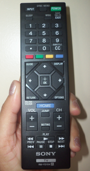 how to set clock on sony bravia tv