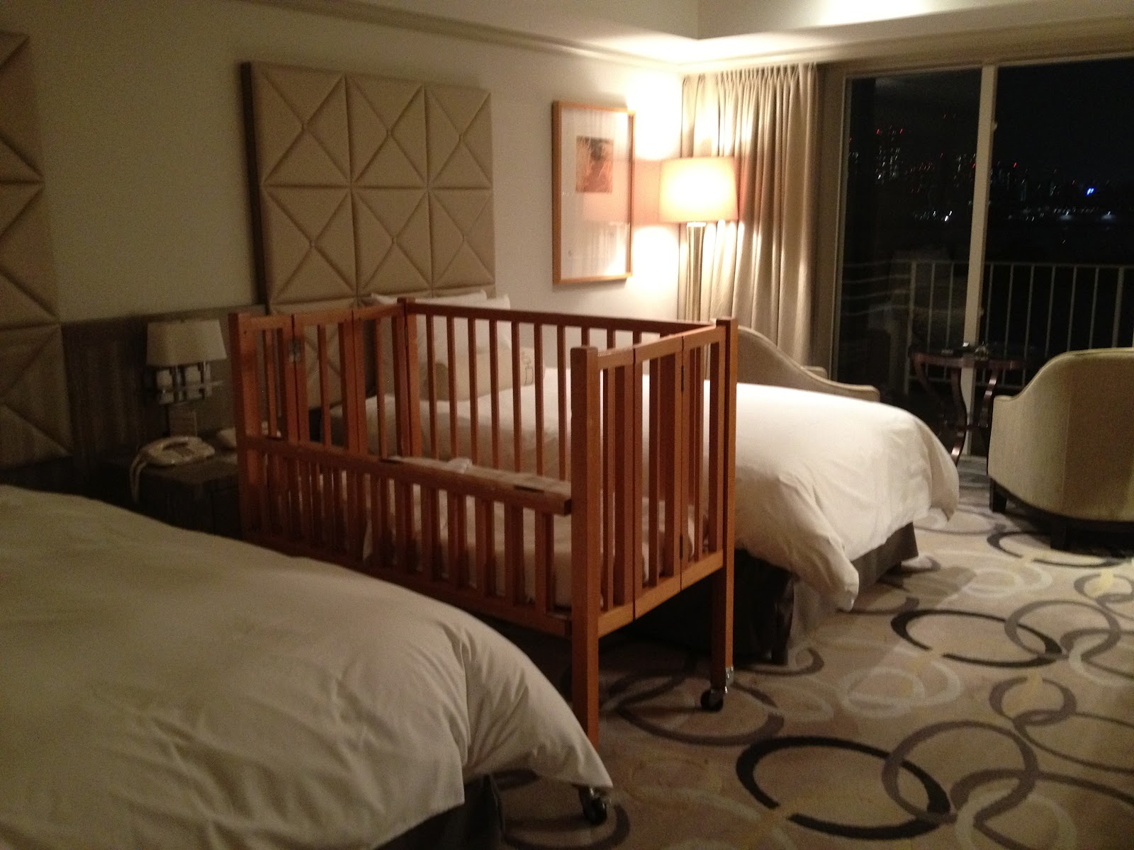 Baby bed youtube - Our Hotel Room With Baby Cot
