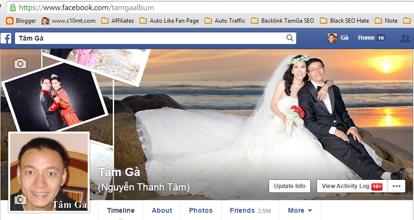 Facebook Profile Tâm Gà [ https://www.facebook.com/tamgaalbum ]