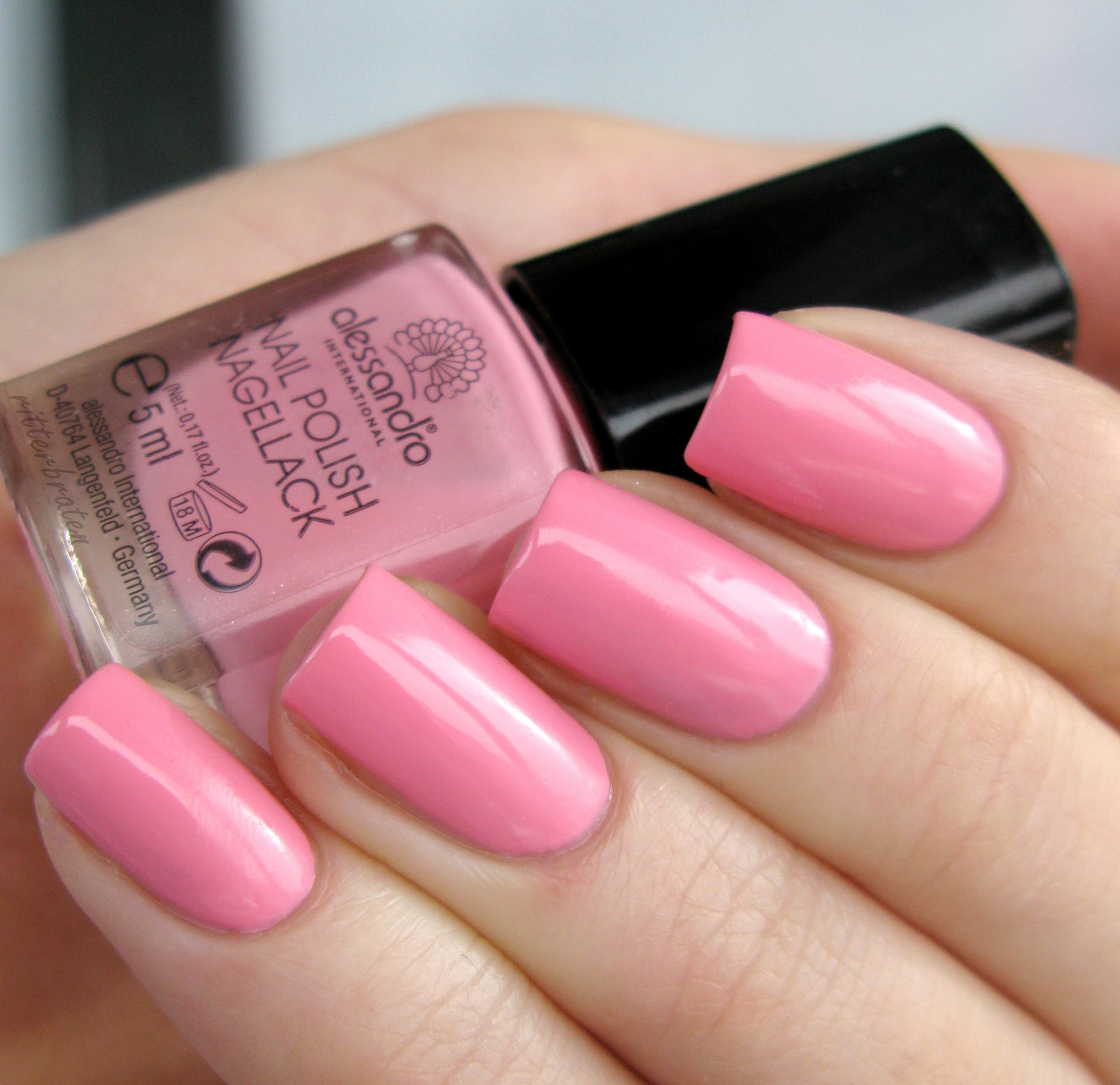 Alessandro Candy Floss Pink nagellack