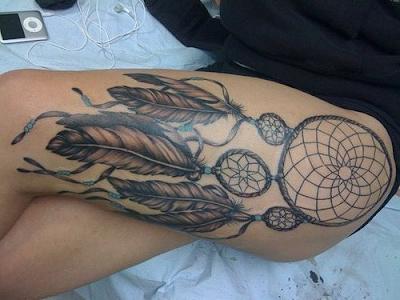 Tatuaje atrapa sueños