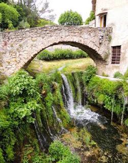 medieval, bridge, France