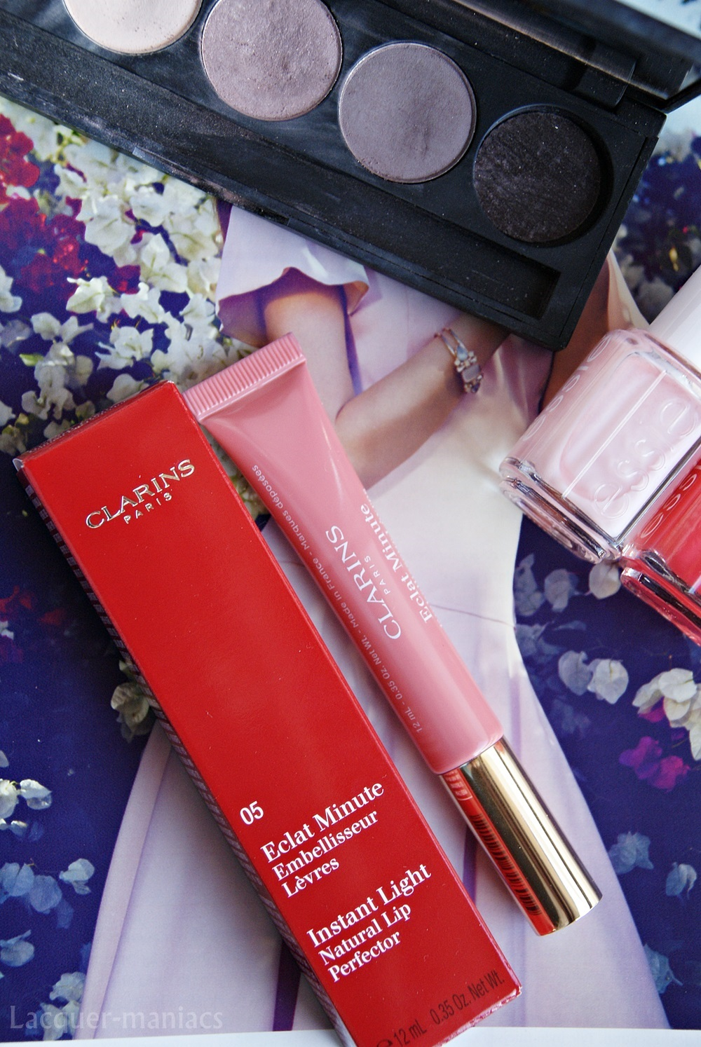 Clarins, Instant Light, Natural Lip Perfector w odcieniu 05 Candy shimmer
