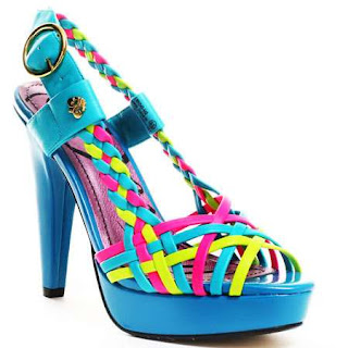 color high heels