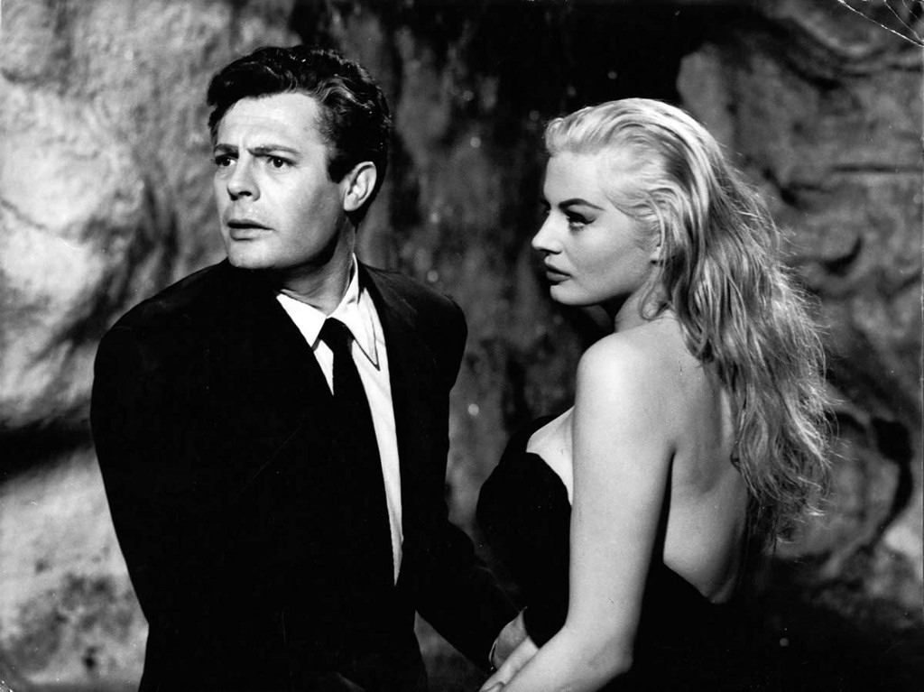 la dolce vita analysis of characters Marcello mastroianni and anita ekberg in la dolce vita  one who bored you all  with their in-depth analysis of whatever subject they happened to be teaching.