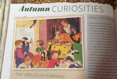 Interesting article about Autumn Curiosities from Pretty Nostalgic Year Book