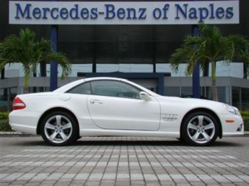 Benz stop net 2009 mercedes benz sl550 5 5l v8 74 800 for Mercedes benz of naples inventory