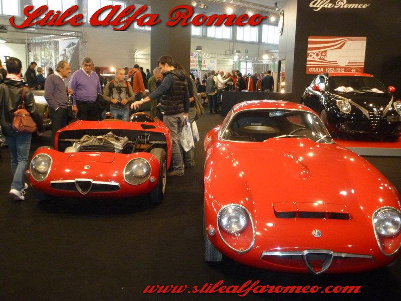 Stile alfa romeo fiera auto moto d 39 epoca di padova ed 2012 for Fiera arredamento padova