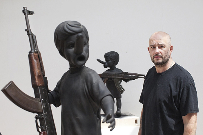jake dinos chapman essay Just a few months after taking over london's serpentine gallery, jake and dinos  chapman have another large-scale outing the brothers.