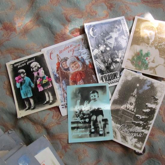 Old postcards, открытки, коллекция