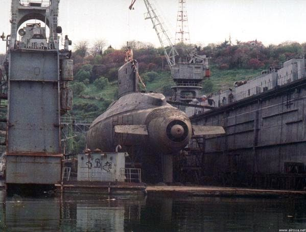 Russian Navy Only Kilo Class Sub That Uses A Pump Jet