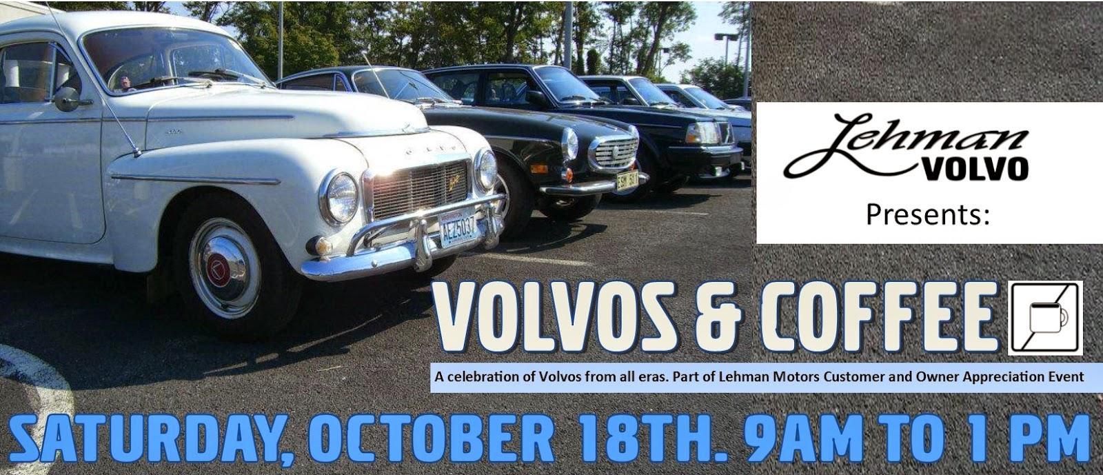 Lehman Volvo Cars Tis The Season ForFall Volvo Shows - Car show york pa
