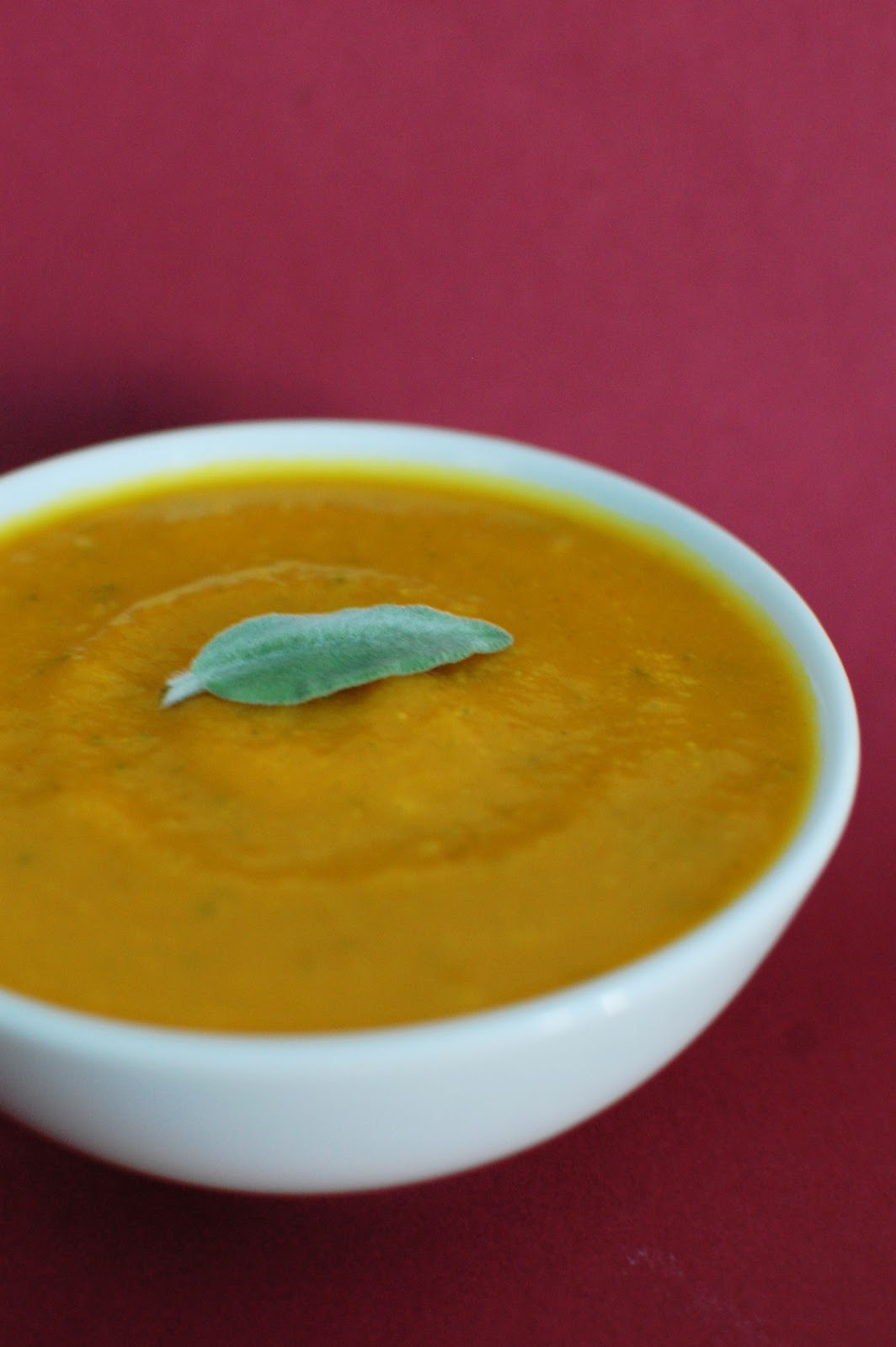 Roasted Pumpkin and Squash Soup with Sage | Beantown Baker