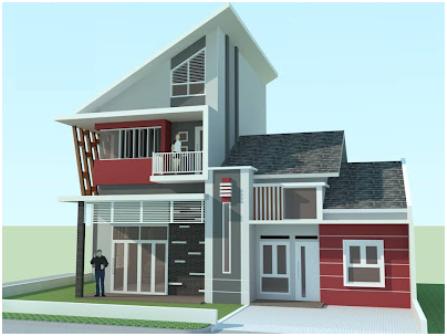 Desain Model Gambar Denah Rumah Minimalis Terbaru