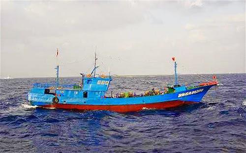 Tàu Cá của Trung Quốc bị Mỹ bắt giữ