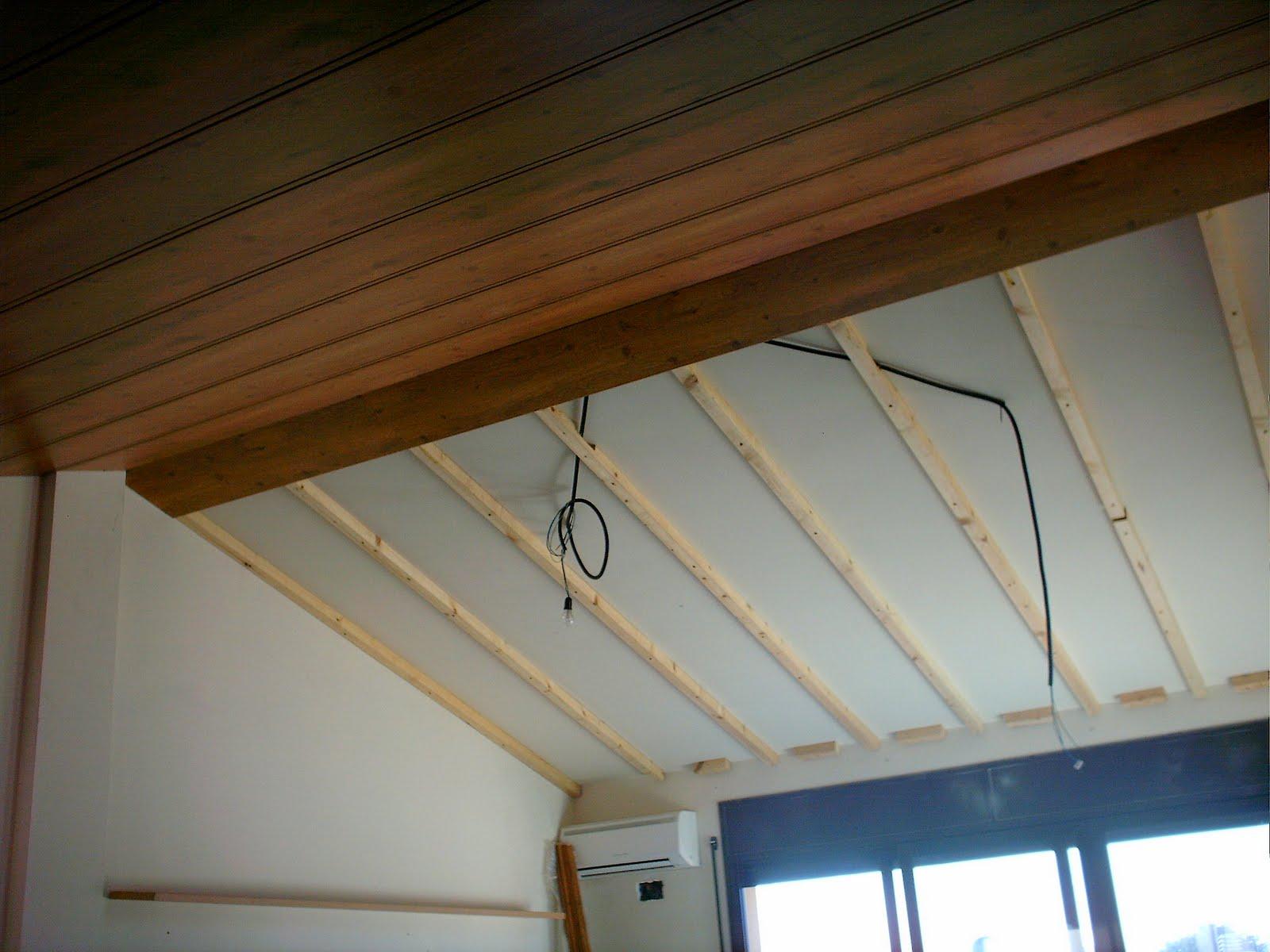 affordable decoracion en madera falso techo with falso techo madera - Falsos Techos De Madera