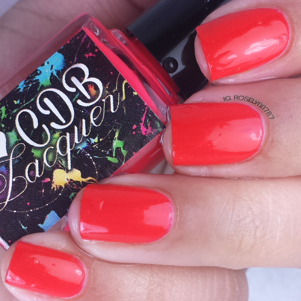 CDB Lacquer - Raging Red