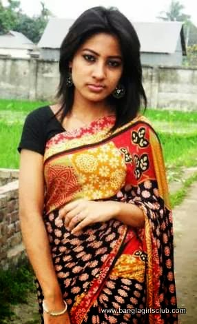 Beautiful+Bangladeshi+Village+Girl+Wearing+Sharee004