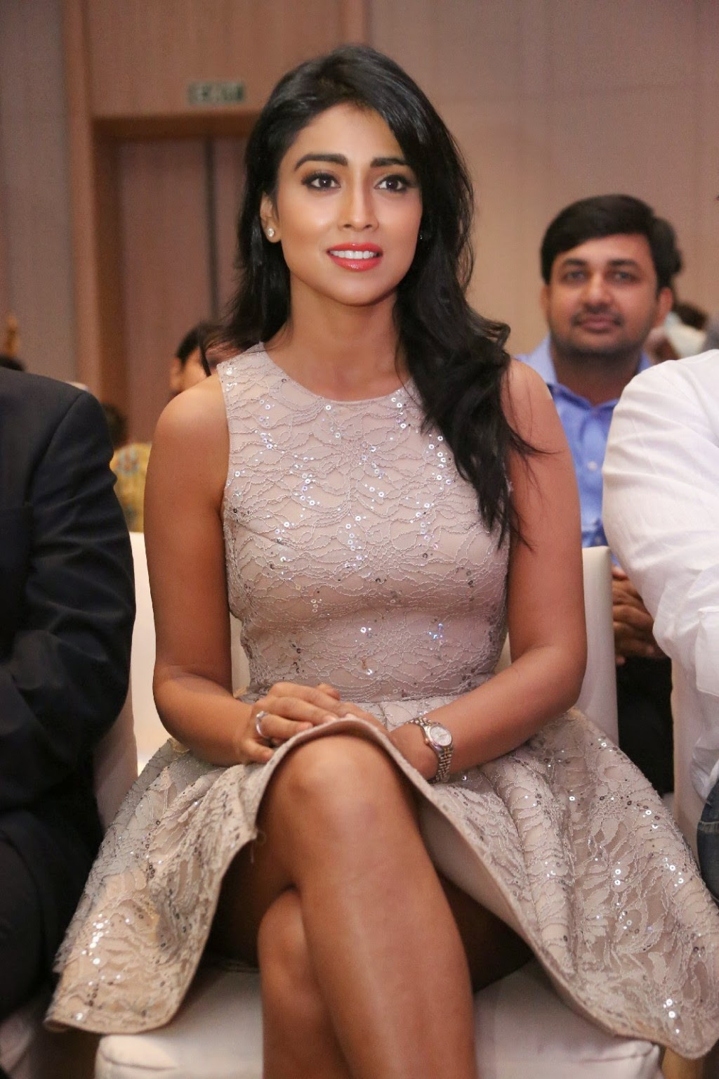 Shriya Saran at SIIMA Awards Curtain Raiser PM