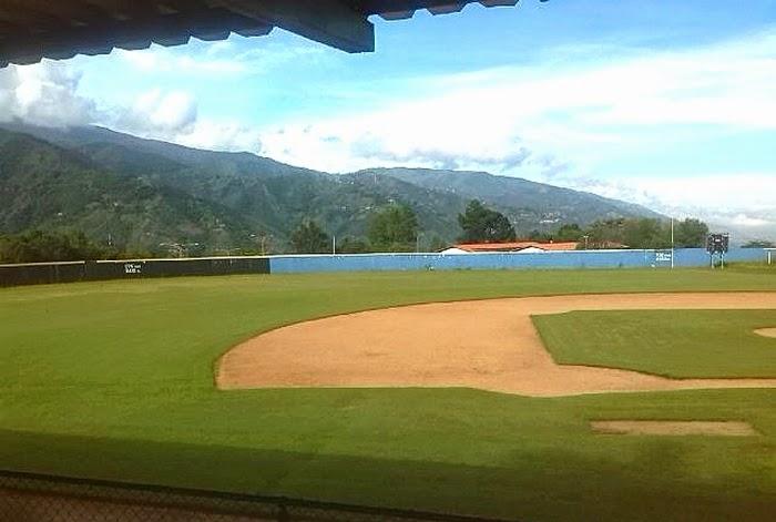 En óptimas condiciones quedaron los campos de fútbol y béisbol de la ULA. (Foto Cortesía de la Dirección de Deportes ULA)