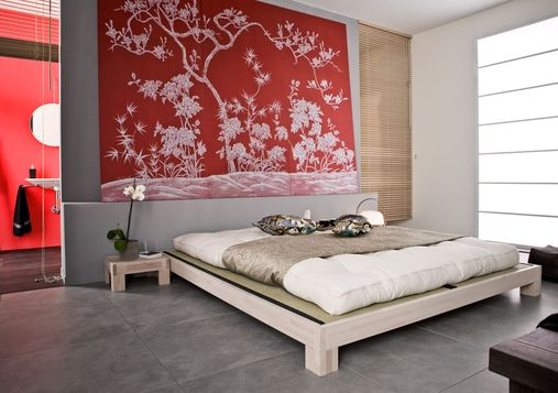 Lindos dormitorios estilo oriental ideas para decorar for Paredes orientales