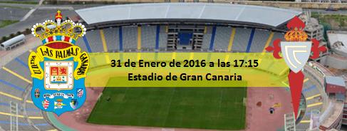 Previa UD Las Palmas - RC Celta de Vigo
