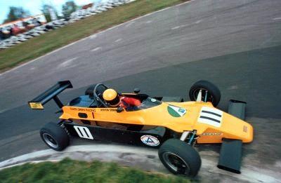 1982 Carro Ayrton Senna Fórmula Ford 2000 Rushen Green