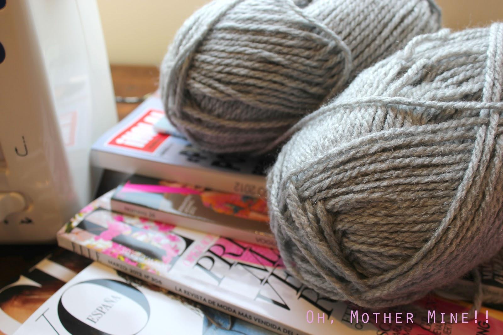 Aprender a hacer punto DIY Bufanda cerrada. Como hacer bufanda con dos agujas