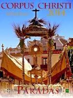 Paradas - Fiesta del Corpus 2014