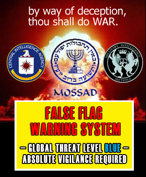 False Flag Warning Alert