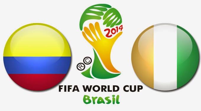PREVIEW Pertandingan Kolombia vs Pantai Gading 19 Juni 2014 Malam Ini