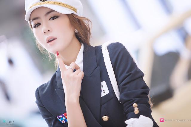 1 Jung Joo Mi at Hyundai Pony Festival-Very cute asian girl - girlcute4u.blogspot.com