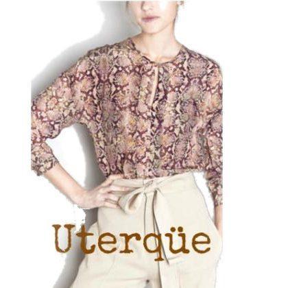 Queen Letizia - Style - UTERQUE Silk Blouse