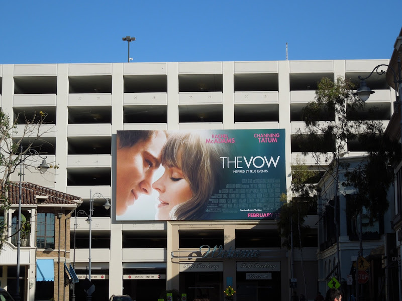 The Vow billboard The Grove