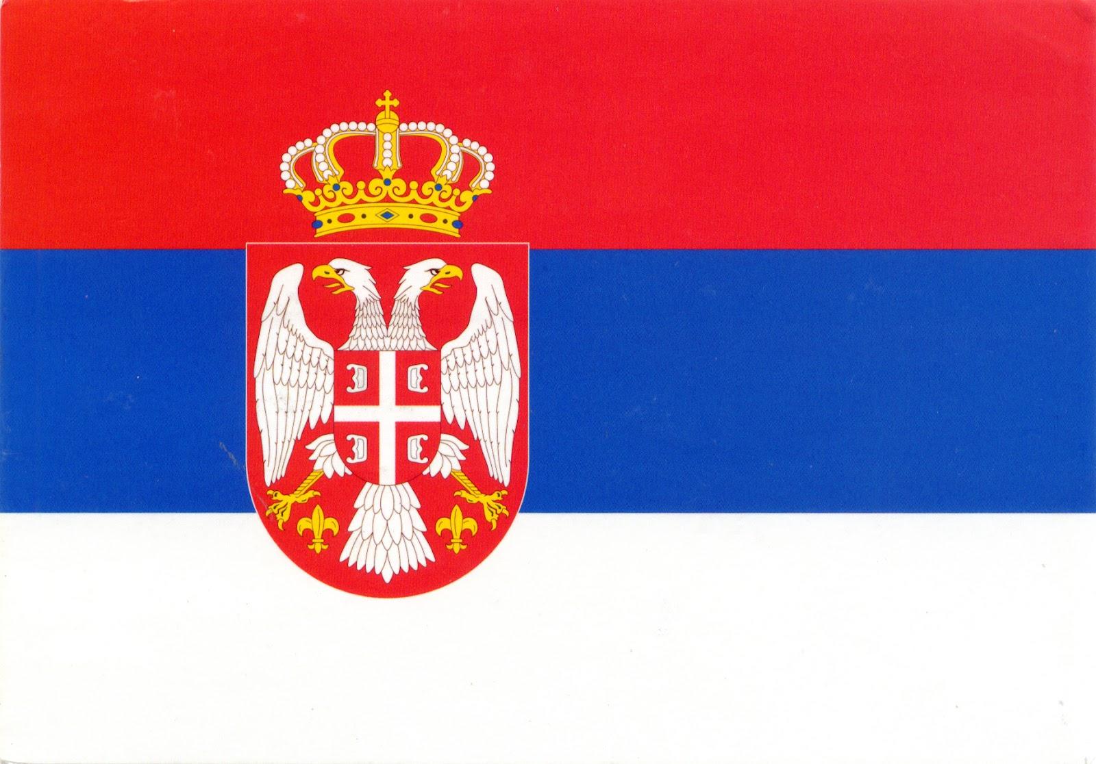 Risultato immagine per bandiera serbia