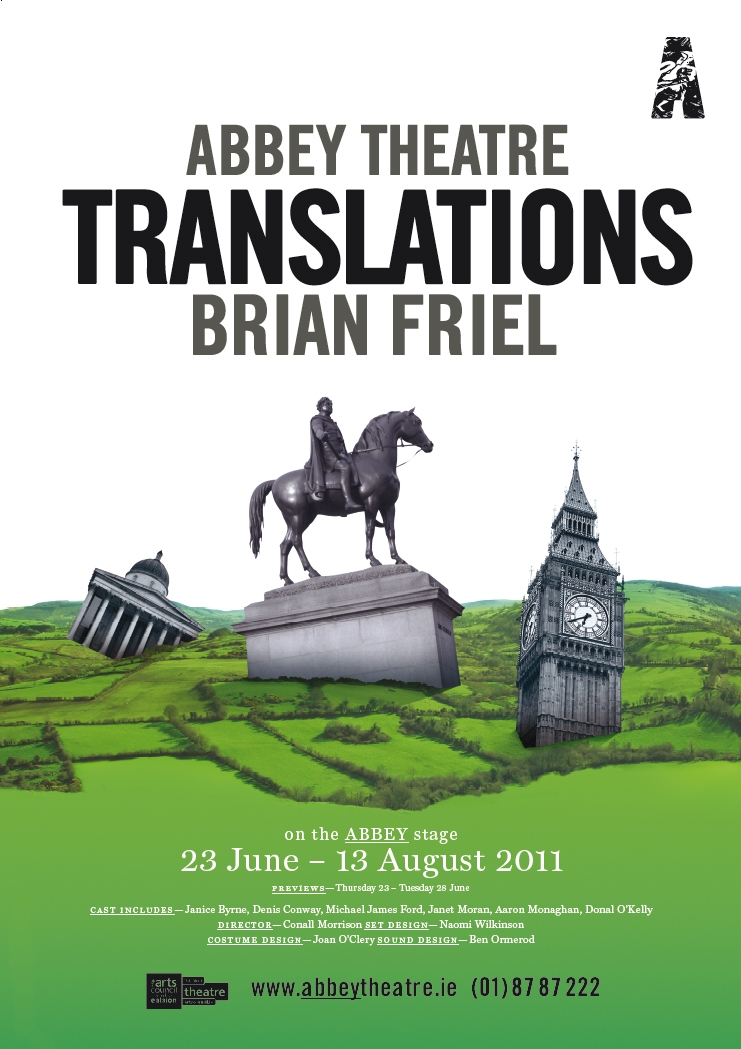 essays on brian friels translations This essay looks at the changing aspects of brian friel's long involvement with   to explain this intention to de-anglicise existing translations of chekhov, friel.