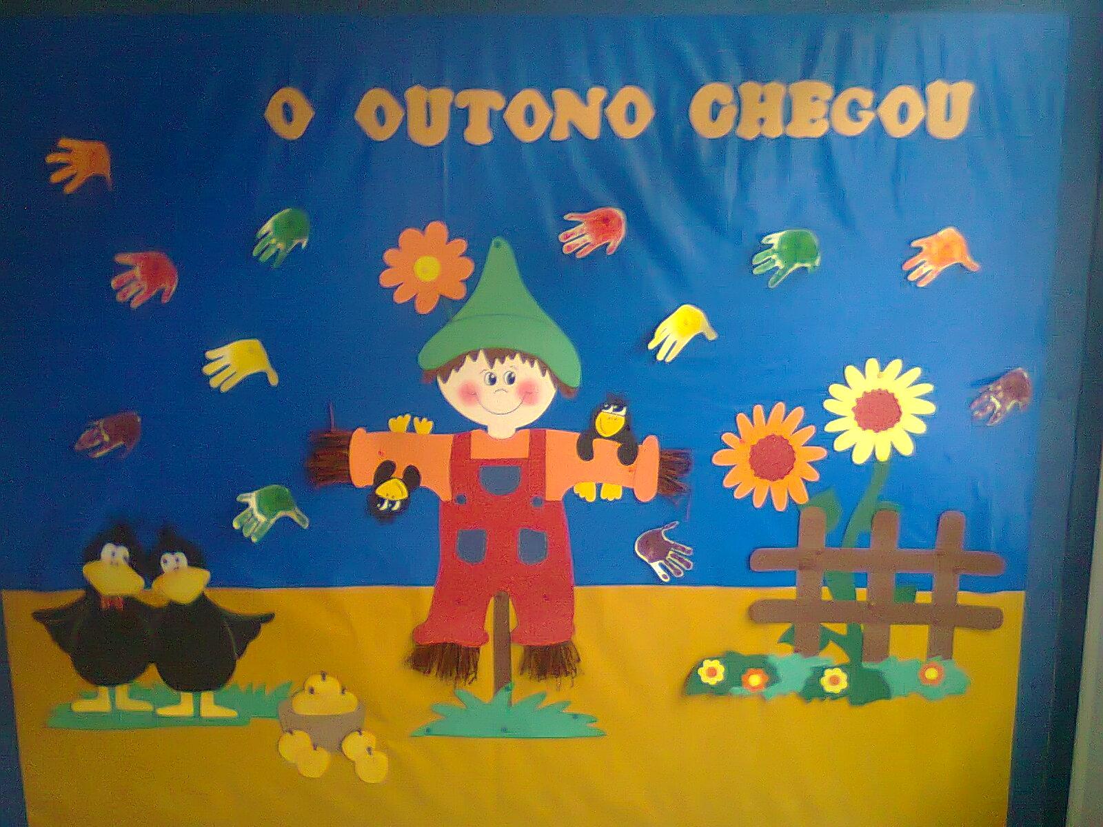 ideias para o outono jardim de infancia : ideias para o outono jardim de infancia:Duendes Mágicos Artes @: Ideias para quadros / placares de Outono