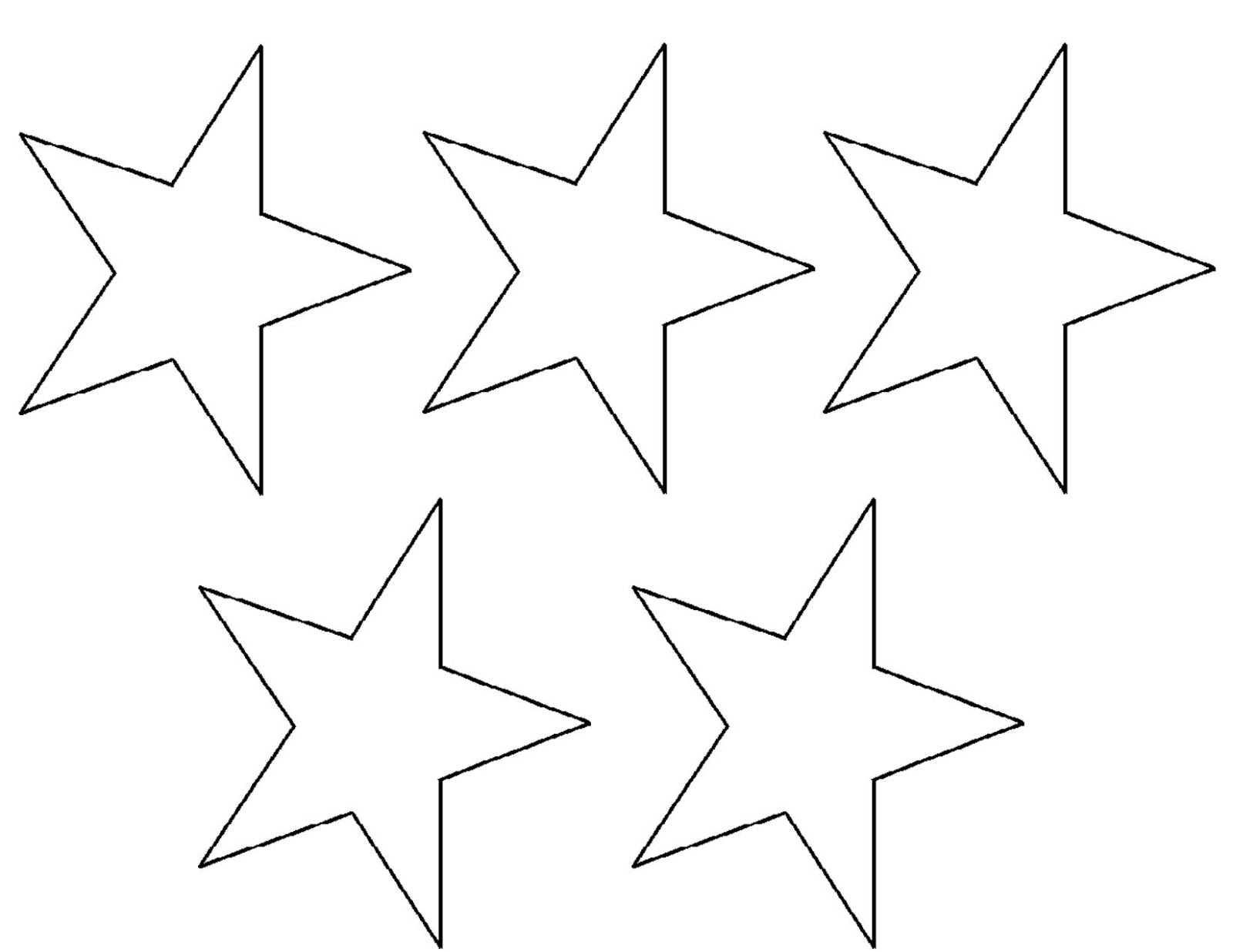 Resource image with regard to star stencils printable