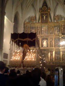 Mª STMA. DEL CONSUELO EN LA CATEDRAL SEPTIEMBRE 2010