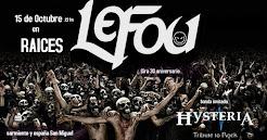 Le Fou 30° Aniversario Festejo, nuevo álbum y libro
