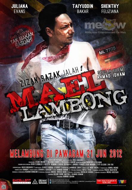 Gambar poster filem Mael Lambung