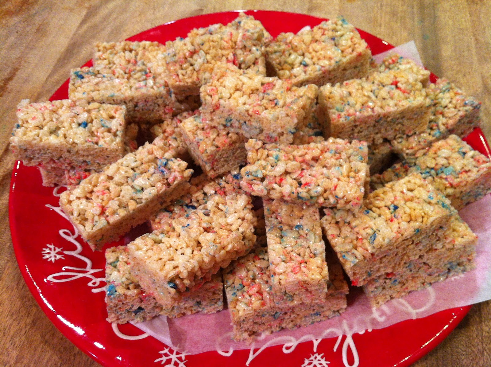 Cooking with Anh: Rice Crispy Treats for Fourth of July