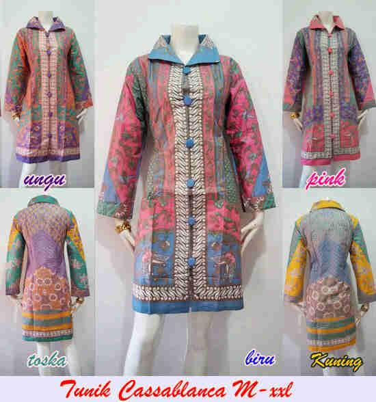Batik Murahan Jual batik wanita modern B99 DE BAJU BATIK SERAGAM